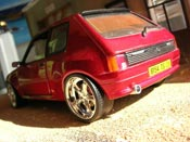 Peugeot 205 miniature GTI Dimma rouge