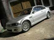 Bmw M3 E46  gray Kyosho