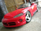 Dodge Viper RT 10 red