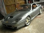 Ferrari 550 Maranello gray
