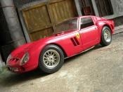 Ferrari 250 GTO 1962  rouge Burago 1/18
