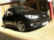 Peugeot 206 RC black