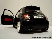 Fiat 500 Abarth  black 2007 Mondo Motors