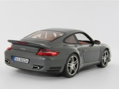 Porsche 997 Turbo gray