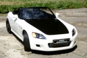 Honda S2000 bianco preparation turbo