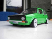 Miniature German Look Volkswagen Golf 1 GTI emeraude