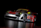 Porsche 997 GT3 RSR 2007 flying lizard #45 alms