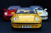 Porsche 911 Speedster yellow