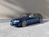 Audi RS6   C6 Avant V10 TFSI bleu Ottomobile