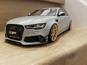 RS6 R ABT C6 Avant V10 TFSI grey
