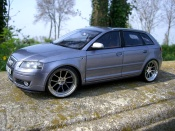 Audi tuning A3 3.2 quattro turbo