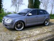 Audi A3 3.2 quattro turbo kyosho tuning