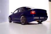 Audi S4   kit rs4 bleue jantes kinesis Ut Models