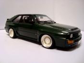 Audi Sport Quattro miniature swb 1984 verte