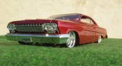 Chevrolet Bel Air 1962  low rider wolverine-marvel Maisto