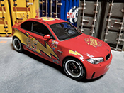 Bmw 1M   Flash McQueen GT Spirit 1/18