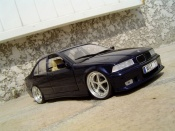 Bmw tuning 325 E36 ruote 17 pollici kit m3