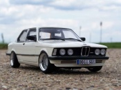 Bmw tuning 323i e21 white wheels alpina 16 inches 1977