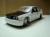 Bmw tuning M3 E30 white wheels hartge 19 inches