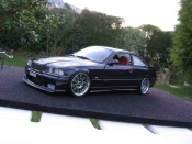 Bmw M3 E36 coupe violette wheels m3 a deport