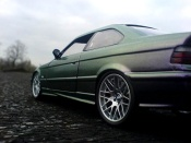 Bmw tuning M3 E36 cameleon paint wheels m5