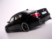 Bmw M5 E60  wheels techart blacks Kyosho