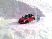 Mini Cabriolet S s red