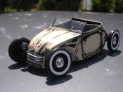 Miniature Hot Rod Citroen 2CV hot rod