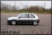 Citroen tuning Saxo vts gray metallized