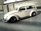 Volkswagen Kafer cox 1956 fourgonette meeussen