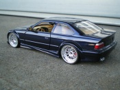 Bmw M3 E36 GTR bleue jantes larges Ut Models