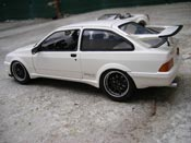 Ford Sierra Cosworth RS tuning white