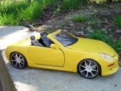Mercedes tuning SLK prototype concept car boxter