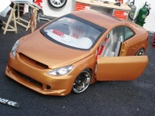 Peugeot tuning 307 CC orange