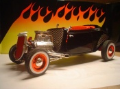 Miniature Hot Rod Ford 1934 roadster