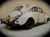Volkswagen Kafer   split 1951 old school Maisto 1/18
