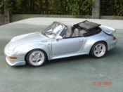 Porsche tuning 993 GT2 convertible