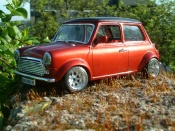Austin tuning Mini Cooper racing