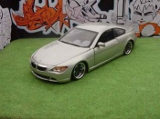 Bmw tuning 645 E63 e63 ci coupe couleur champagne dub style