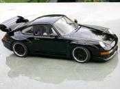 Porsche tuning 993 GT2 black evo