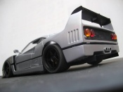Ferrari F40 LM gray