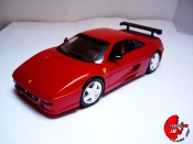 Ferrari F355 Berlinetta  challenge rouge  Hot Wheels 1/18