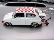 Fiat 850   moteur vw Solido