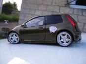 Fiat Punto miniature gt