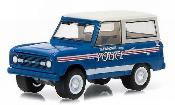 Ford Bronco miniature Glen Alpine Police 1967