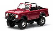 Ford Bronco miniature rouge 1974