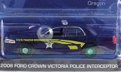 Ford Crown   Victoria Oregon Highway Patrol Special Version 2008 Greenlight 1/64