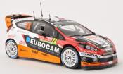 Ford Fiesta miniature RS No.22 Slovakia WRT Rally Monte Carlo 2014 /E.Melicharek