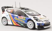 Ford Fiesta miniature RS WRC No.12 Visit Romania Rally Monte Carlo 2014 /D.Savignoni