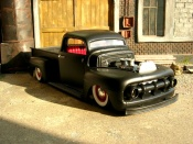 Ford tuning F 100 pick up 1951 devil spirit